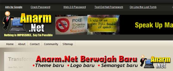 Anarm.Net berwajah baru