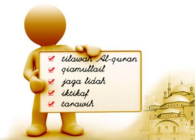 amalan dalam bulan ramadhan