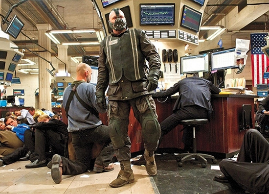 Bane in Batman Dark Knight Rises