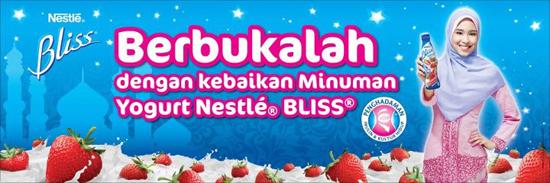 Berbuka dengan Minuman Yogurt Nestle Bliss