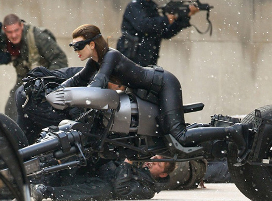 Catwoman in Batman Dark Knight Rises
