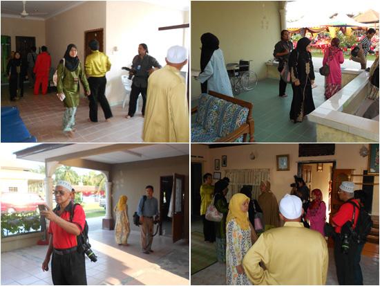 Blogger dan media melawat Rumah Warisan Kaseh