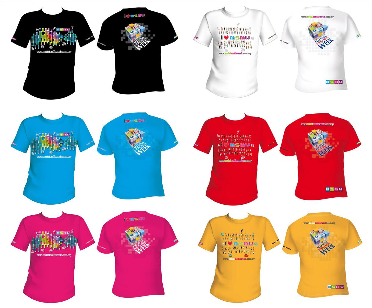 T-shirt MSMW 2013