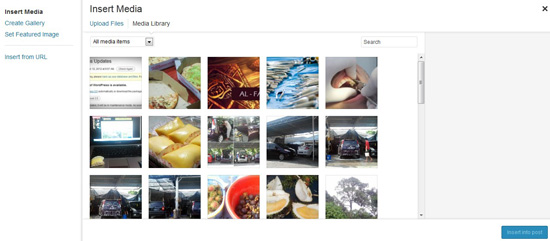 Galeri gambar WordPress 3.5