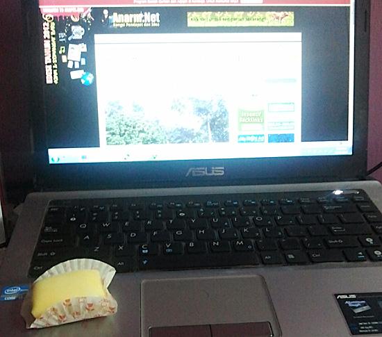 Makan Durian Crepe