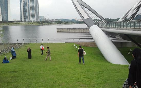 Rehatkan Minda di Taman Seri Empangan Putrajaya