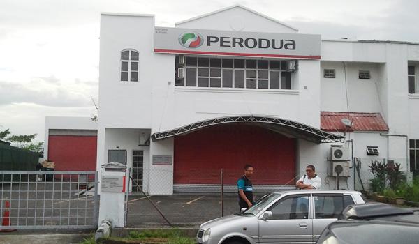 Pusat servis kereta Perodua Bangi