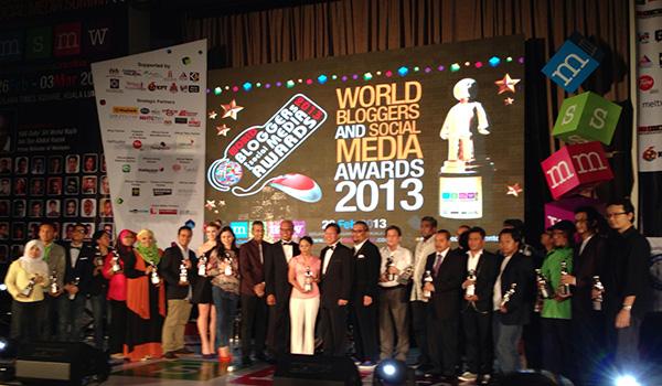 blogger menang awards msmw 2013