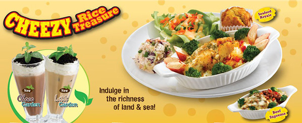 cheezy rice treasure kenny rogers malaysia