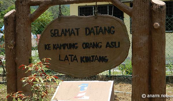 kampung orang asli lata kinjang