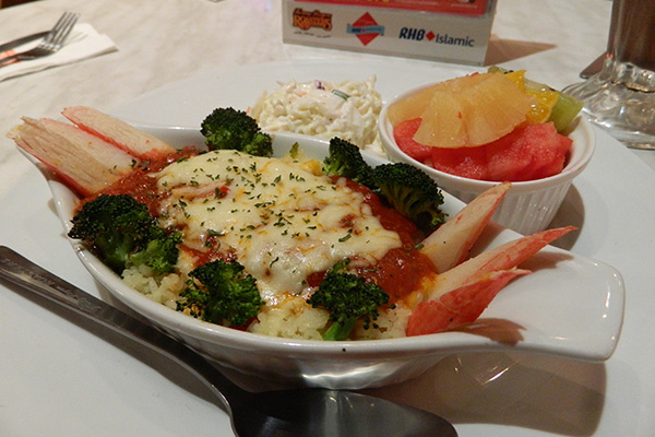 seafood royale cheezy rice treasure