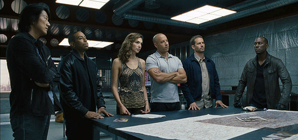 fast and furious 6 team
