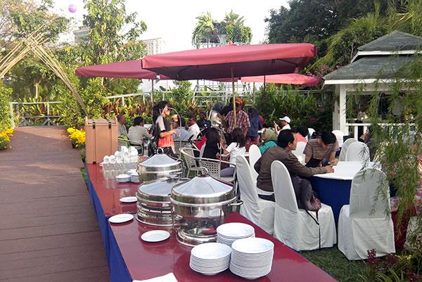 Majlis Ramah Mesra di Tea Party Garden