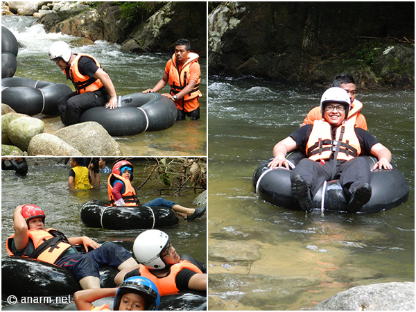 water tubing kalumpang resort