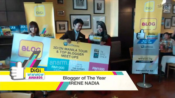 blogger of the year digi wwwow awards