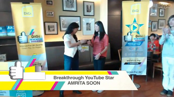 breakthrough youtube star digi wwwow awards