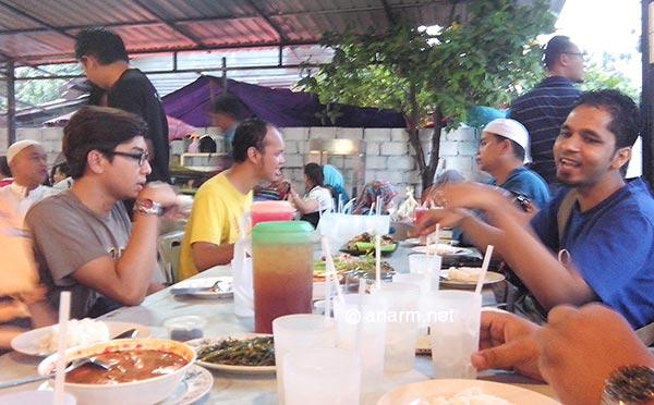 iftar blogger negaraku ayam nara