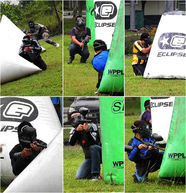 blogger cyberjaya paintball park