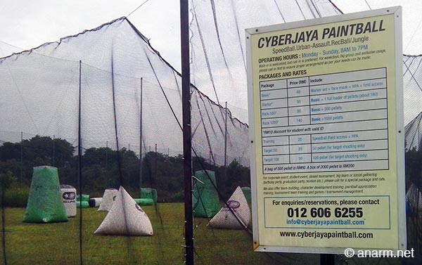 cyberjaya paintball park