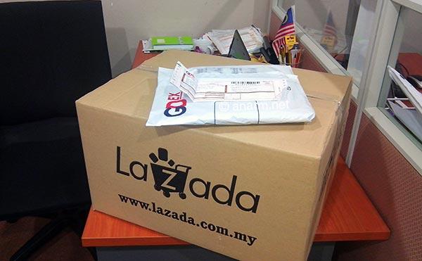 Shopping online guna voucher Lazada Malaysia