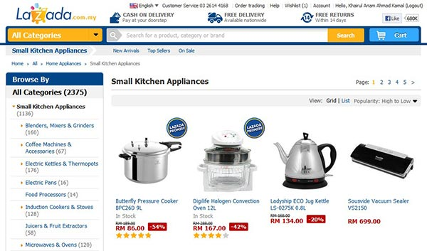 small kitchen appliances lazada