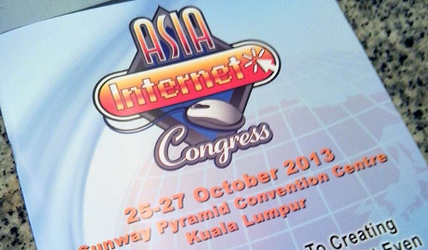 asia internet congress malaysia 2013