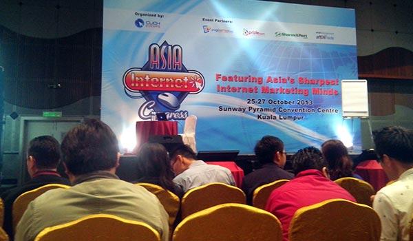 seminar asia internet congress malaysia 2013