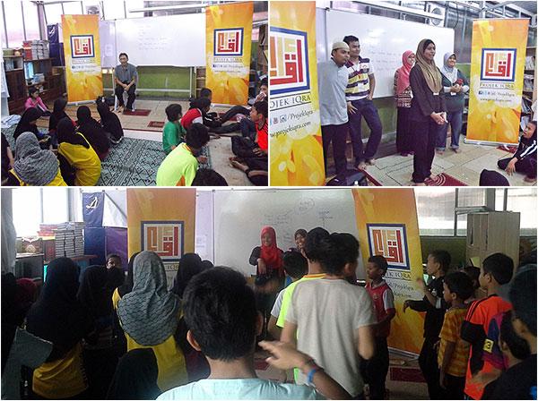 Aktiviti Projek Iqra'