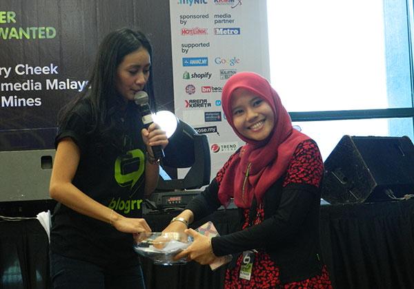 Cabutan bertuah Marsha bersama blogger Liaomey