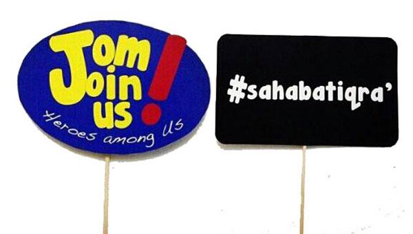 Sertai Projek Iqra' sebagai Sahabat Iqra'