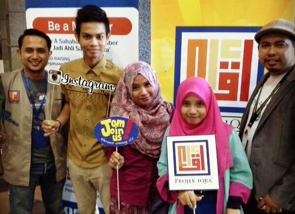 Sahabat Iqra' Sukarelawan Projek Iqra'