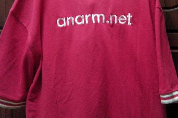 Sulam T-shirt nama blog anarm.net