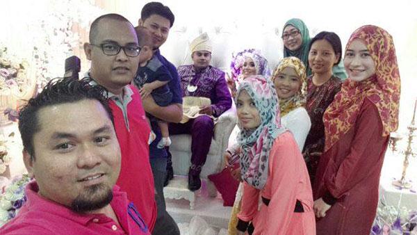 Majlis kahwin blogger Yana Yassin dan Sharul