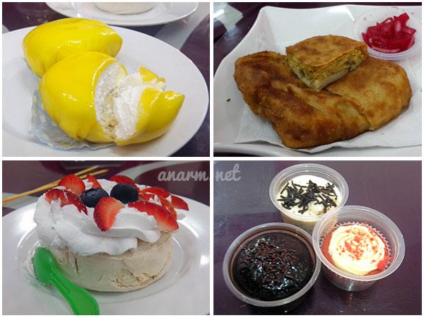 Hidangan Restoran Simply Delicious milik Serina Datuk Redzuawan