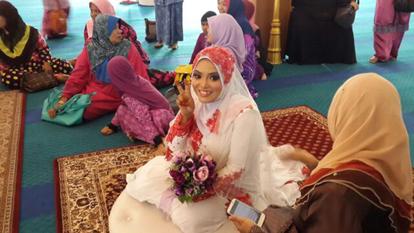 Majlis Perkahwinan blogger Yana Yassin