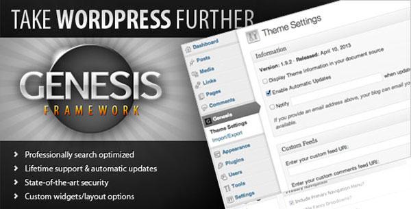 Blog AnarmNet menggunakan Genesis Framework