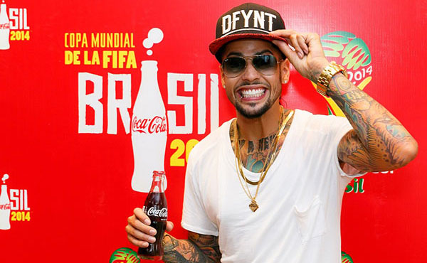 David Correy duta lagu tema Coca-Cola kempen Piala Dunia