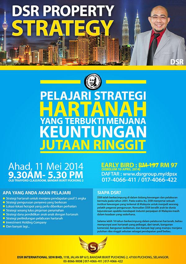 Seminar Strategi Pelaburan Hartanah DSR