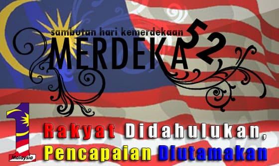 52 Tahun Malaysia Merdeka