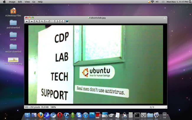 ubuntu-shot