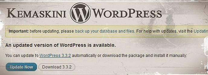 kemaskini-wordpress