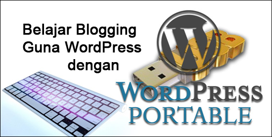 belajar wordpress portable