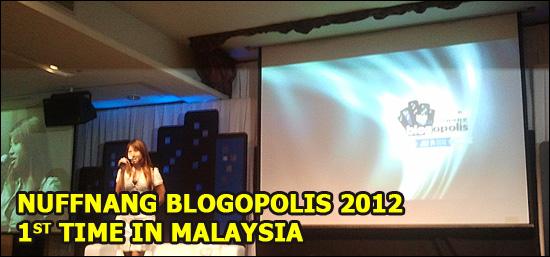 Nuffnang Blogopolis 2012 Malaysia