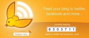 share entri blog dengan twitterfeed