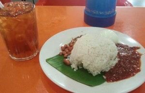 nasi lemak kedai mamak