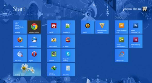 Sistem Operasi Windows 8 Pro