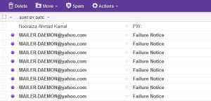 yahoo mail spammer