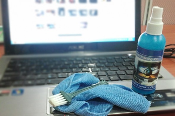 cuci laptop guna cleaning kit