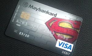 kad debit superman maybank
