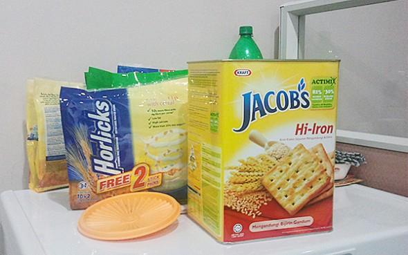 makanan diet di pejabat